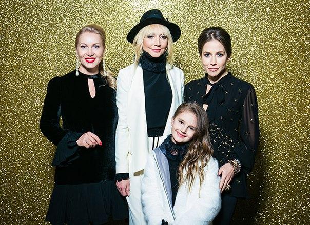 Кристина Орбакайте с дочерью Клавдией и другие звезды на показе TWINSET Milano в Москве