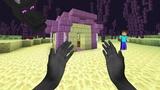Minecraft in Real Life Enderman Kid (Realistic Minecraft)