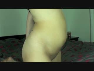 Pornstar belly inflation
