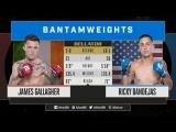Bellator 204: Джеймс Галлахер (7-0) – Рикки Бандехас (10-1)
