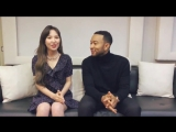 [STATION X 0] Wendy (Red Velvet) X John Legend 'Written In The Stars' Message