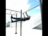 Крутые трюки на турнике