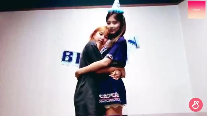Tzuyu and chaeyoung height difference is so cute