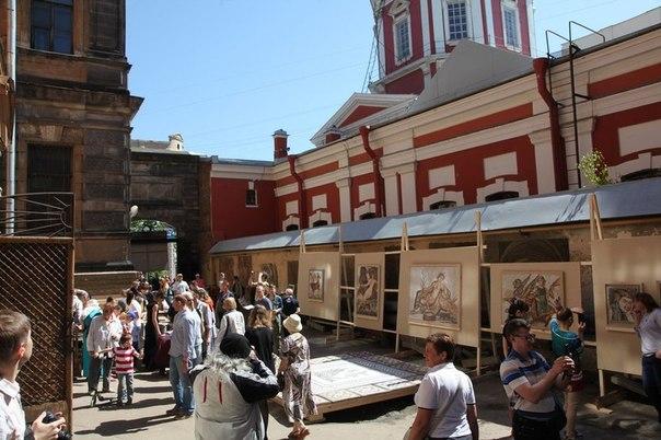 Фестиваль «Соляной городок — город мастеров» <br> <br>26 мая в Соляном переулке пройдёт XXII Международный фестиваль декоративно-прикладного искусства