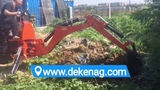 China DEKEN tractor 3 point hitch backhoe 01