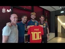 Homenaje a Gerard Piqué por sus 100 partidos con España