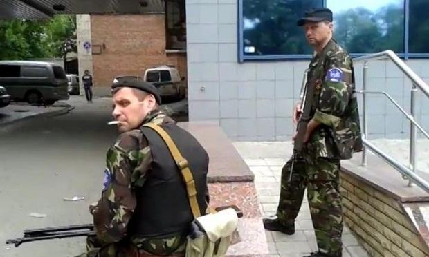 В Донецке творится что-то непонятное
