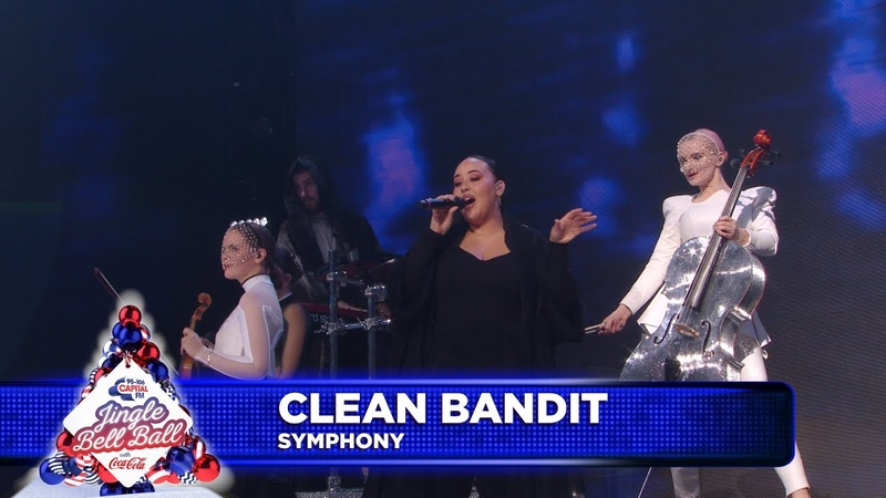 Clean Bandit 'Symphony' FT Zara Larsson Live at Capital's Jingle Bell Ball