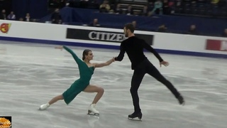 Gabriella PAPADAKIS & Guillaume CIZERON - Rhythm dance on European Figure Skating Championships 2019