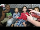 Kids Feet Tickle Challenge