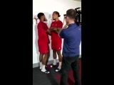 Джо Гомес и Вирджил ван Дейк на фотосессии для Sky Sports