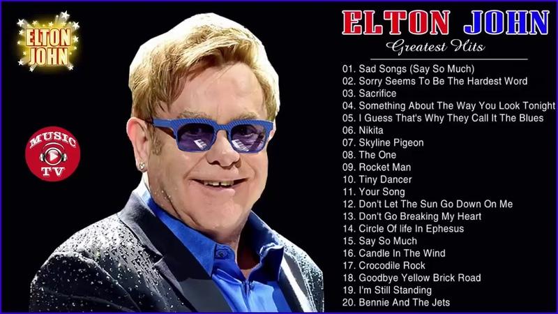 Best Songs Of Elton John - Elton John Greatest Hits Playlist