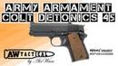 Страйкбольный пистолет ARMY ARMAMENT COLT DETONICS 45 R45A1