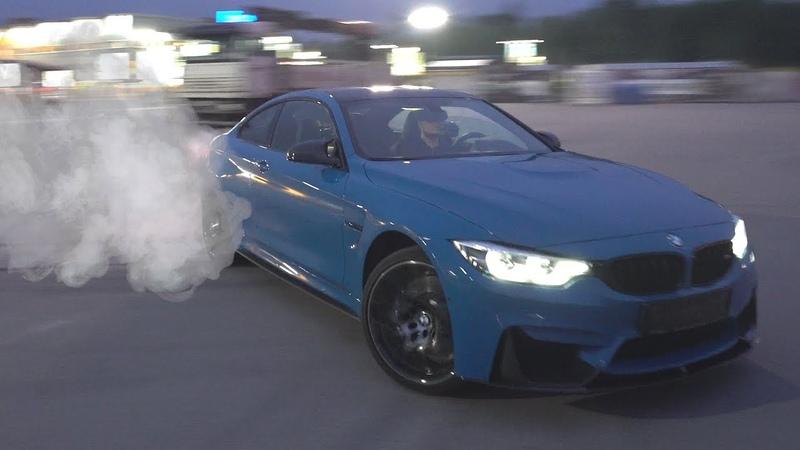 BMW M4 COMPETITION PACKAGE БЕШЕНАЯ И НЕУЛОВИМАЯ ТЕСТ ДРАЙВ ОТ БУЛКИНА