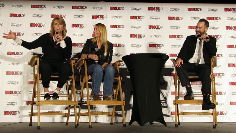 Lucy Lawless Renee O'Conner Panel