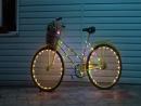 Велосипед с подсветкой для провидения фотосессий в Анапе