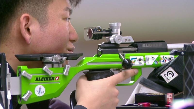 50m Rifle 3 Positions Men Junior Final - 2018 ISSF World Championship in Changwon (KOR)