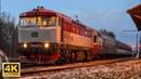 Zamračená 749.107 odváží z Loukova u Mnichova Hradiště 854.021 po střetu se stromem 14.1.2019 (4K)