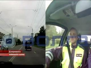 Погоня за баикером в Дзержинске