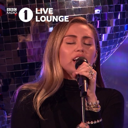 """BBC Radio 1 on Instagram: """"@mileycyrus and @iammarkronson transport us to Tennessee with their Live Lounge performance of 'Nothing Breaks Like A He..."""