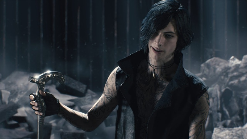 Devil May Cry 5 - New V Gameplay Boss Battle Part 2