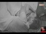 20-02-2017 - Madrugada - Parte 76 - Marcos e Emilly namoram antes de dormir - Parte 2
