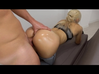 Fit-Teen-in-Yoga-Pants-Anal-Fingering-Grinding-and-Cumshot-on-Ass-POV