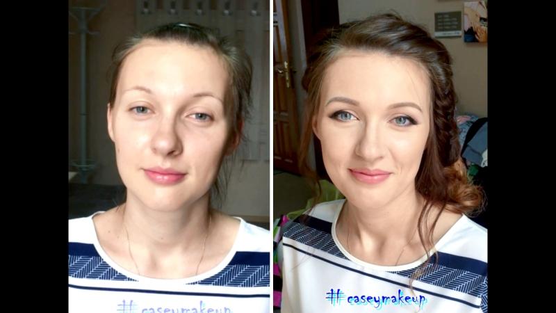 Ксения Саватеева. Легкий макияж и прическа с плетением на фотосессию