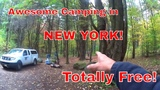 New York Camping! Shelving Rock Area of the Lake George Wild Forest