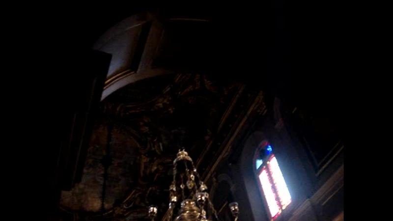 Служба в Храме Святителя Спиридона Тримифунтского ,Керкира(о.Корфу)