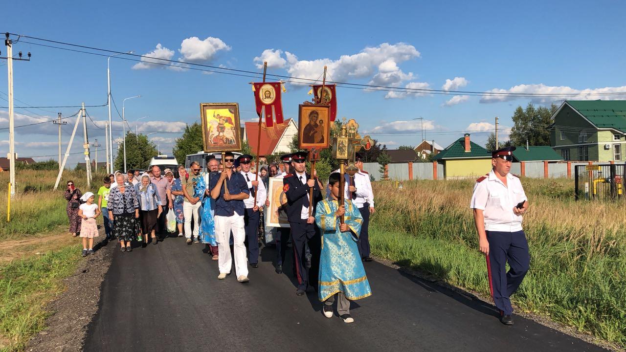 Крестный ход Вороново - Безобразово