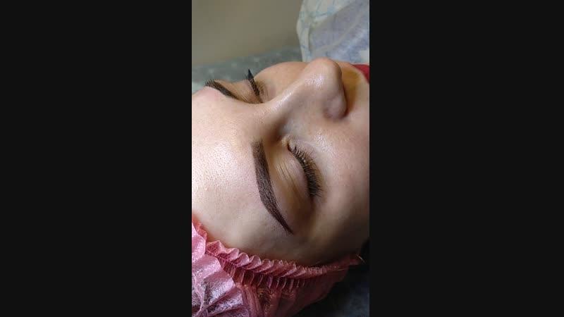 Перманентный макияж бровей - это отличный способ придать взгляду глубины, подчеркнуть достоинства лица и сгладить недостатки.️Эф