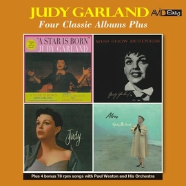 Judy Garland альбом Four Classic Albums Plus (A Star Is Born / Miss Show Business / Judy / Alone) [Remastered]