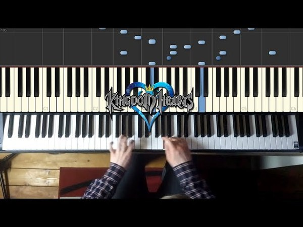 Kingdom Hearts - Dearly Beloved Piano Tutorial (Beginner to Advanced Progressions)