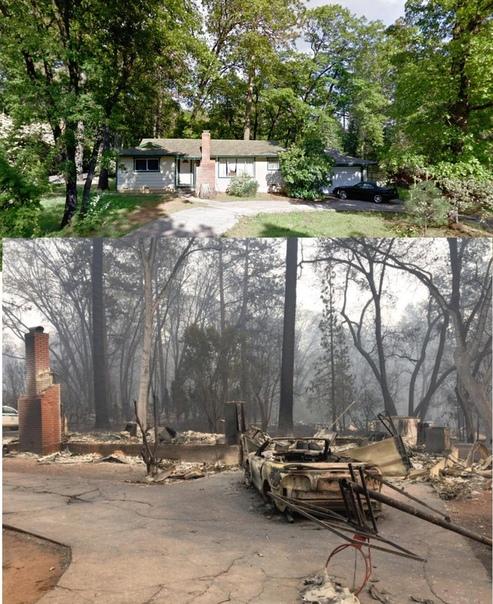 Калифорнийский Рай превратился в пепел. Как это было