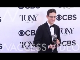 Andrew Garfield, Laurie Metcalf and more at Tony Awards Press Room