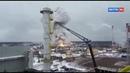 Взрыв в Кингисеппе здание завода разрушено до основания искрой от болгарки