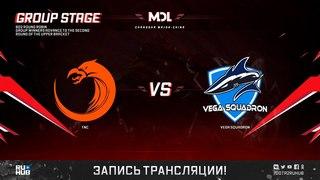 TNC vs Vega Squadron, MDL Changsha Major, game 2 [Mortalles]