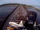 WORLD SPEED RECORD om the Most Dangerous Bridge in the World