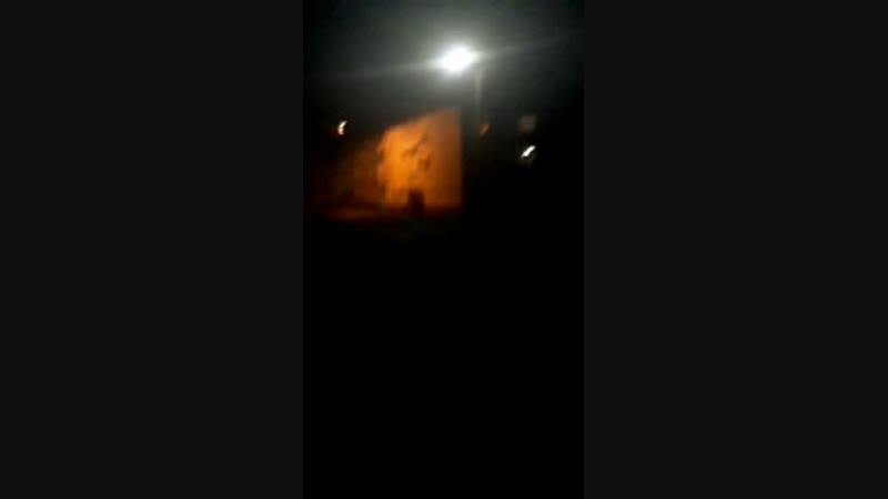Ночь но плашатке