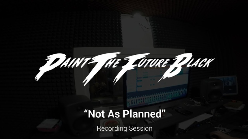 PTFB - Not As Planned (clean vocals recording session)
