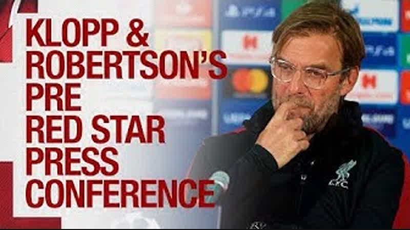 Liverpools pre-match Champions League press conference | Red Star Belgrade