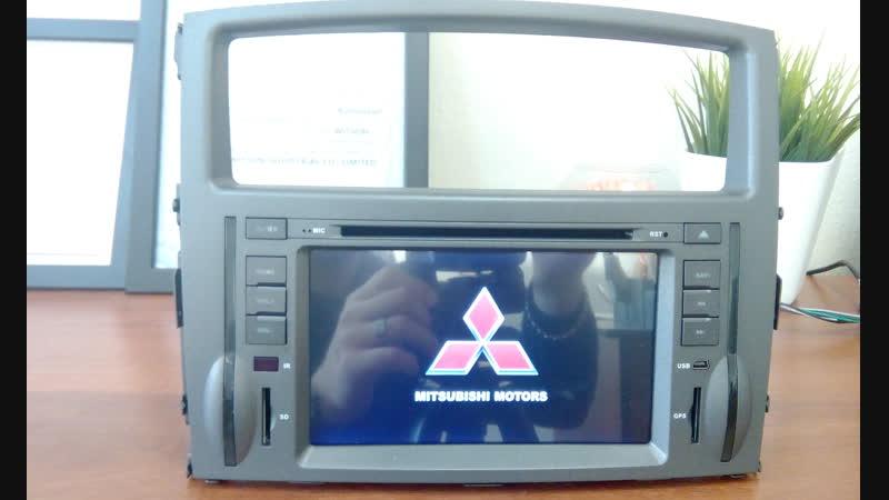 Штатная магнитола Witson для Mitsubishi Pajero 4 - Митсубиси Паджеро 4 (2006-2014)