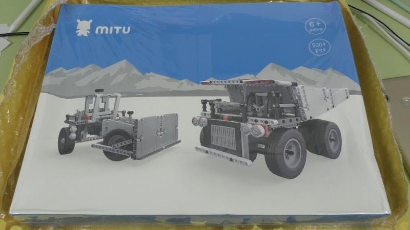 Xiaomi MITU Truck - новый конструктор Сяоми! ► Посылка из Китая / JD