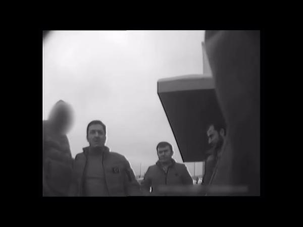 Задержание вымогателей денег у таксистов г.Мытищи