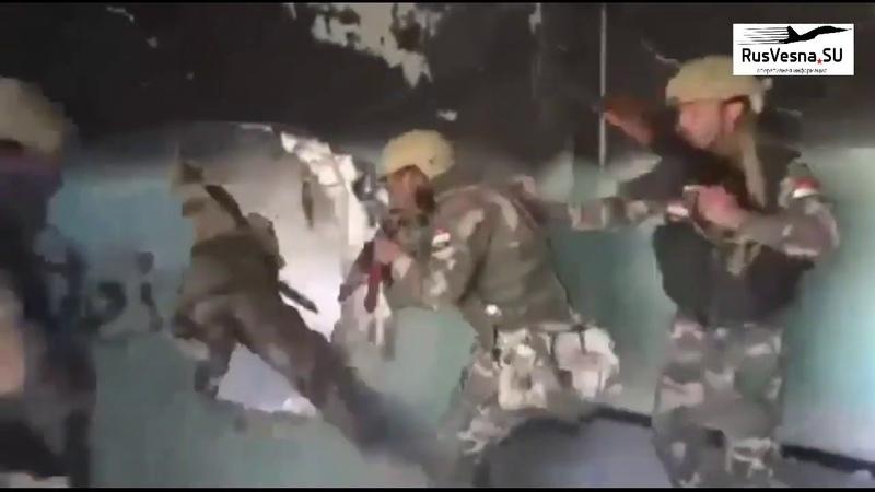 Сирия кадры штурма подготовленные русским ЧВК суперсолдаты в действии