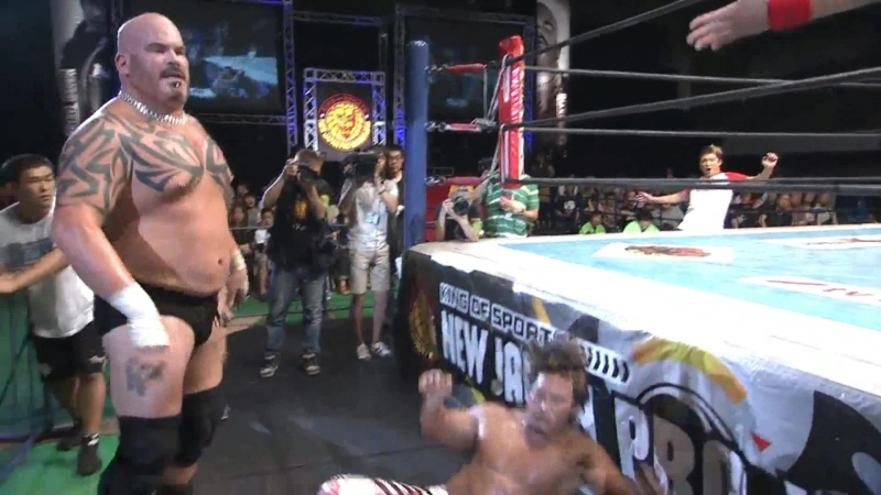 Hiroshi Tanahashi(с) vs. Giant Bernard Match for the IWGP Heavyweight Title (New Japan Soul)