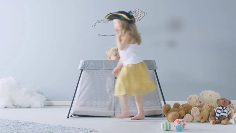 Baby Bjorn Travel Cot Light Review