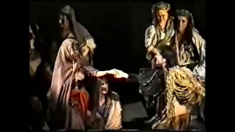Der Glöckner von Notre Dame Берлин 1999 сцены с участием Дмитрия Фрида