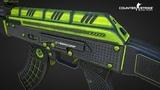 ОТВАЖНЫЙ AK-47 REPTILE УЖЕ В STEAM WORKSHOP